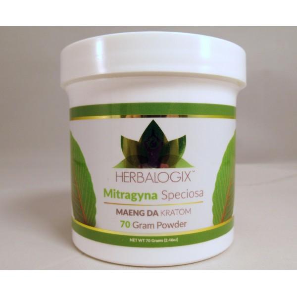 Herbalogix Maeng Da Gold Powder 70gm Bottle (New!)