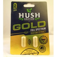 Hush Gold Full Spectrum Extract Capsules - GMP Quality Product (2pk)(1)