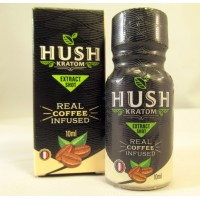 Hush Ultra Shot - 80% Full Spectrum Extract - Coffee Infused - GMP Quality Product (10ml)(1)