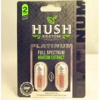 Hush Platinum Full Spectrum Extract Liquid Gel Caps - GMP Quality Product (2pk)(1)
