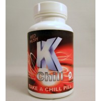 K Chill - Red Hush - Red Vein / Maeng Da Blend - Take a Chill Pill (70ct)