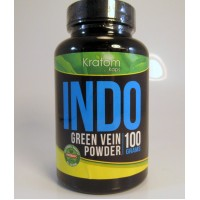 Kratom Kaps - INDO (Green Vein) Organic Powder (100grams)