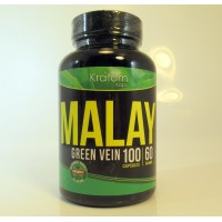 Kratom Kaps - Malay (Green Vein) All Natural Organic Capsules (100 ct .5gr)