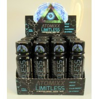 Limitless - Brain Boosting Mental Performance - for a Better Mood, Mind & Day (12ea 2oz shots)