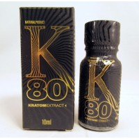 K80 Kratom Extract - 2 Servings - GMP Quality Product (10ml)(1)