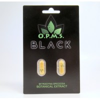 OPMS Black Botanical Extract Caps - Blister Pack - Simply the Best! (2ct)