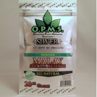 OPMS Silver Malay Special Reserve - All Natural Organic POWDER (28.35gr)