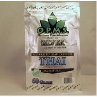 OPMS Silver Thai - All Natural Caps (60gm 120ea)
