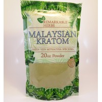 Remarkable Herbs 100% All Natural (Malay) Malaysain (Green Vein) Powder (20oz)