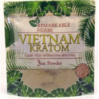 Remarkable Herbs 100% All Natural Vietnam (Green Vein) Powder (3oz)