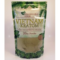 Remarkable Herbs 100% All Natural Vietnam (Green Vein) Powder (20oz)