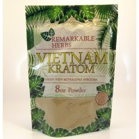 Remarkable Herbs 100% All Natural Vietnam (Green Vein) Powder (8oz)