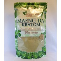 Remarkable Herbs 100% All Natural Maeng Da (Green Vein) Powder (20oz)