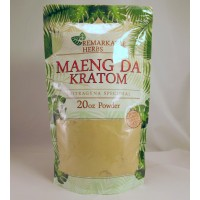 Remarkable Herbs 100% All Natural Maeng Da Powder (20oz)