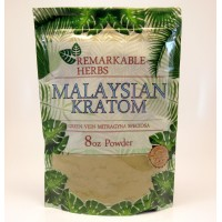 Remarkable Herbs 100% All Natural Malaysian (Malay)(Green Vein) Powder (8oz)