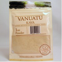 Remarkable Herbs 100% All Natural Vanuatu KAVA Powder (1oz)
