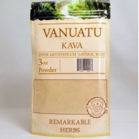Remarkable Herbs 100% All Natural Vanuatu KAVA Powder (3oz)