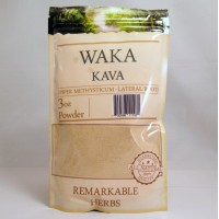 Remarkable Herbs 100% All Natural Waka KAVA Powder (3oz)