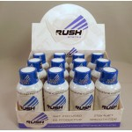 Rhino Rush Energy Drink - Blur Berry Flavor - Stay Alert / Be Productave (12) NEW!