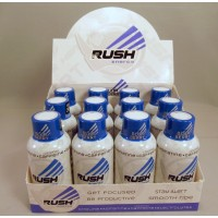 Rhino Rush Energy Drink - Blur Berry Flavor - Stay Alert / Be Productave / Smooth Ride (12)