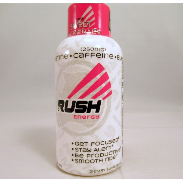 Rhino Rush Energy Drink - Sweet Puckerade Flavor - Stay Alert / Be Productave - (Samples) (1) New!
