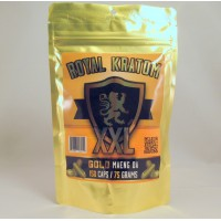 Royal Kratom Gold Maeng Da XXL (150caps/75gm)