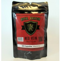 Royal Kratom - Red Vein Capsules (150ea)