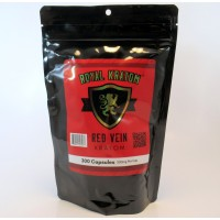 Royal Kratom - Red Vein Capsules (300ea)