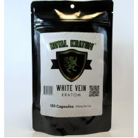 Royal Kratom - White Vein Capsules (150ea)