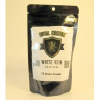 Royal Kratom - White Vein Powder (75gm)