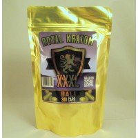 Royal Kratom - Bali XXXL Capsules (300caps/ 150gm)