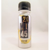 MIT45 Kratom Extract - 2X Silver Double Shot - (2.6oz Bottle)(1ea)(Sample)
