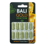 Bali Gold - Maeng Da - All Natural Blend - Capsule Blister Pack (10x500mg) (New)