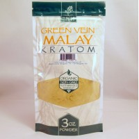 Whole Herbs - Green Vein Malay Powder - Natural | Non-GMO | Organic (3oz)