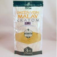 Whole Herbs - Green Vein Malay Powder - Natural | Non-GMO | Organic (3oz)