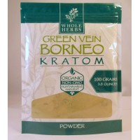Whole Herbs - Green Vein Borneo Powder - Natural | Non-GMO | Organic (100gm)(3.5oz)