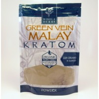 Whole Herbs - Green Vein Malay Powder - Natural | Non-GMO | Organic (225gm)(8oz)