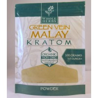 Whole Herbs - Green Vein Malay Powder - Natural | Non-GMO | Organic (100gm)(3.5oz)