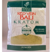 Whole Herbs - Red Vein Bali Powder - Natural | Non-GMO | Organic (100gm)(3.5oz)
