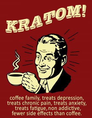 Kratom is safer than coffee - don't believe the lies and fake news.