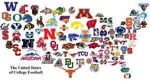 The United States of College Football